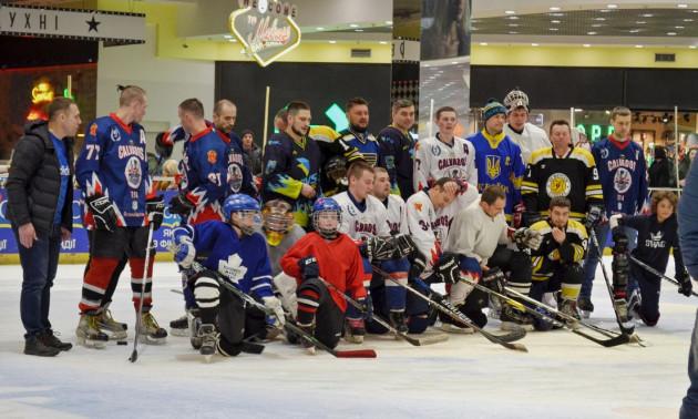 Чемпіон спільно з УХЛ провів Тренування із зіркою у Полтаві