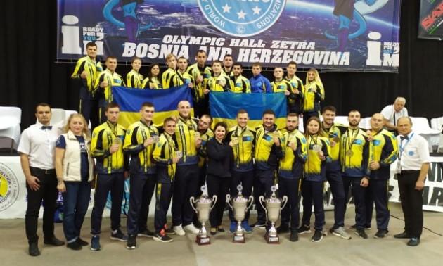 Збірна України з кікбоксингу посіла четверте місце у медальному заліку чемпіонату світу