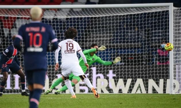ПСЖ зіграв внічию з Бордо у 12турі Ліги 1