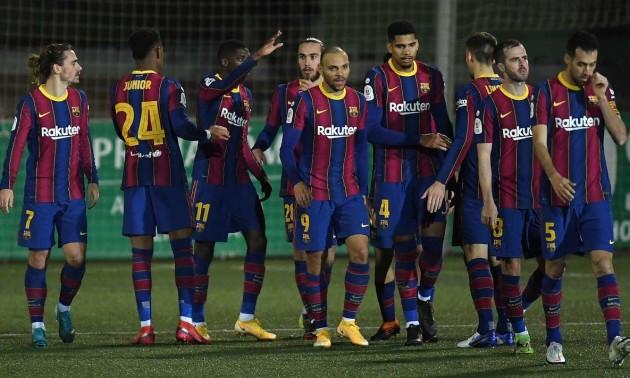 Барселона у додатковий час здолала Корнелью в 1/8 фіналу Кубку Іспанії