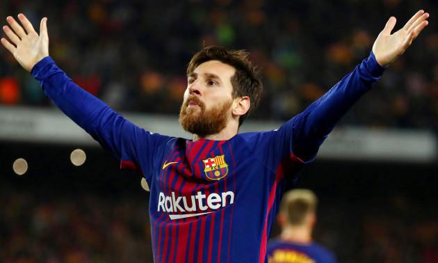 Тренування Барселони очима Мессі