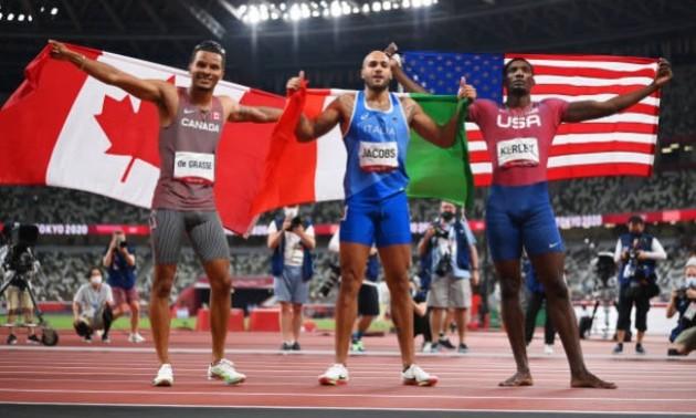 Італієць сенсаційно виграв Олімпіаду у бігу на 100 метрів