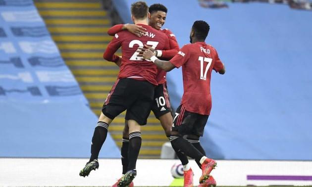 Манчестер Юнайтед упевнено переміг Манчестер Сіті у 27 турі АПЛ