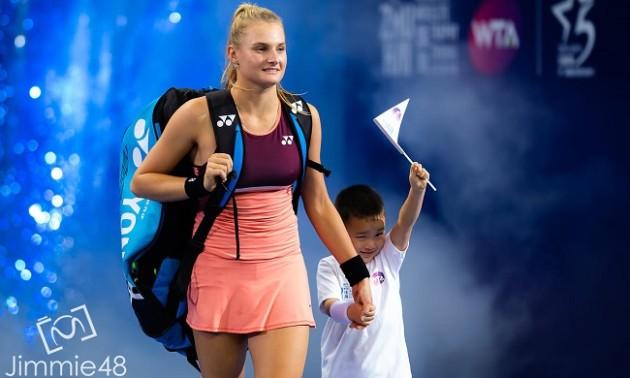 Даяна Ястремська - Донна Векич: відеоогляд матчу WTA Elite Trophy