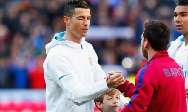 Мессі: Хотів, щоб Роналду залишився у Мадриді