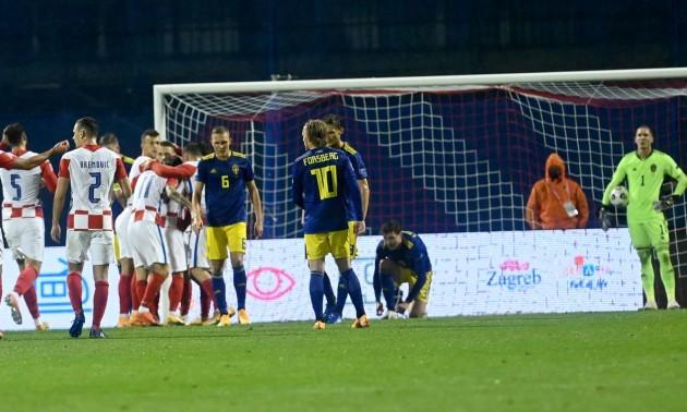 Хорватія - Швеція 2:1. Огляд матчу