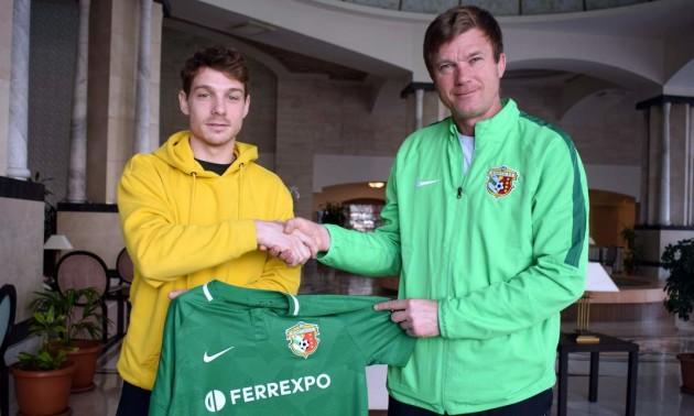 Ворскла підписала хорватського півзахисника