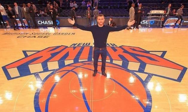 Ломаченко - Педраса: під час гри НБА на табло показали анонс поєдинку. ВІДЕО