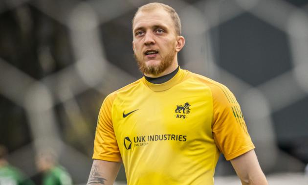 Український голкіпер покинув латвійський клуб