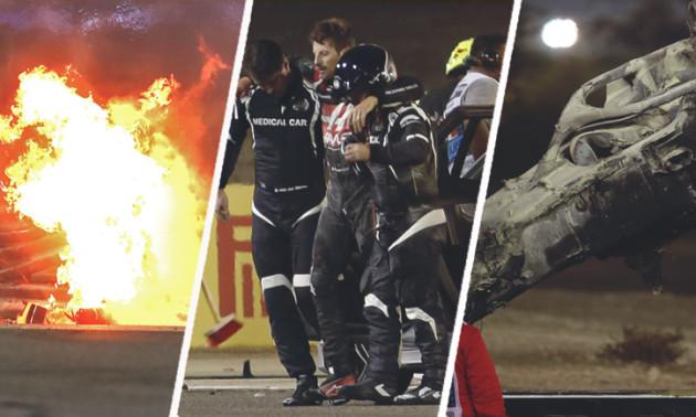 Топ-3 найдраматичніших аварії сезону Формули-1