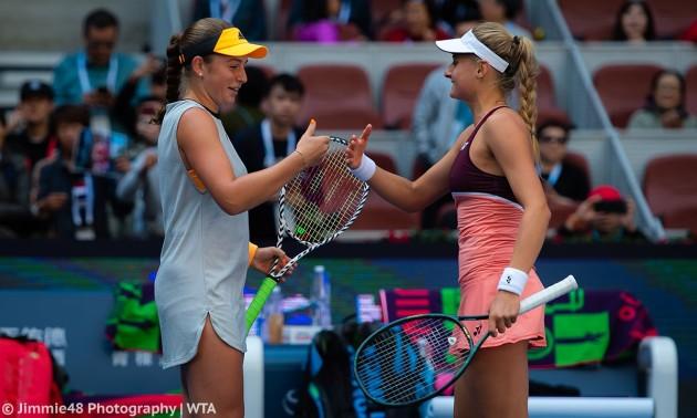 Ястремська з Остапенко поступилися у фіналі парного China Open