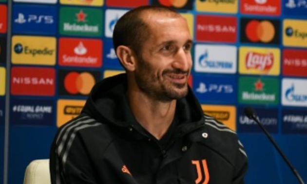Захисник Ювентуса К'єлліні відновився після травми