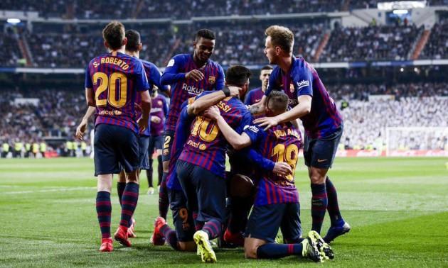 Барселона розгромила Реал у півфіналі Кубка Іспанії