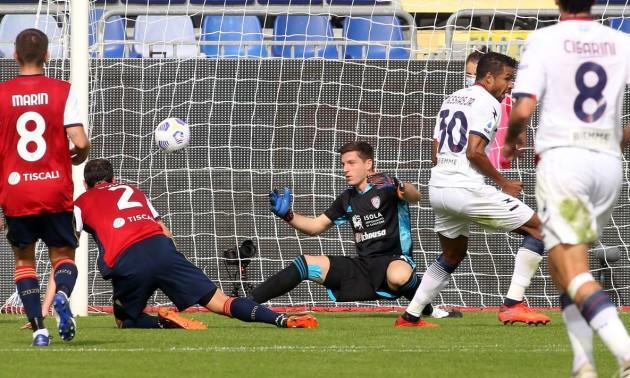 Кальярі переміг Кротоне у 5 турі Серії А