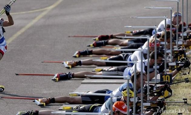 Українські біатлоністи провели контрольне тренування