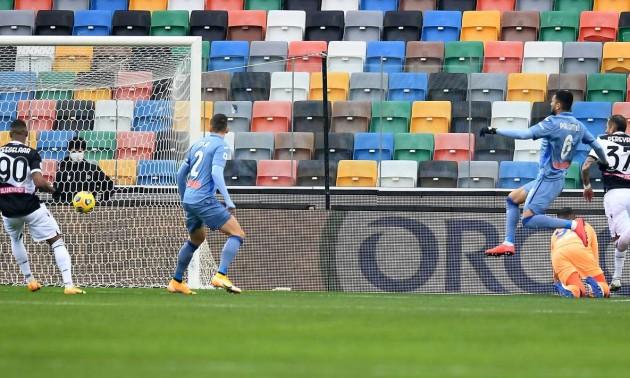 Аталанта Маліновського не переграла Удінезе у перенесеному матчі Серії А