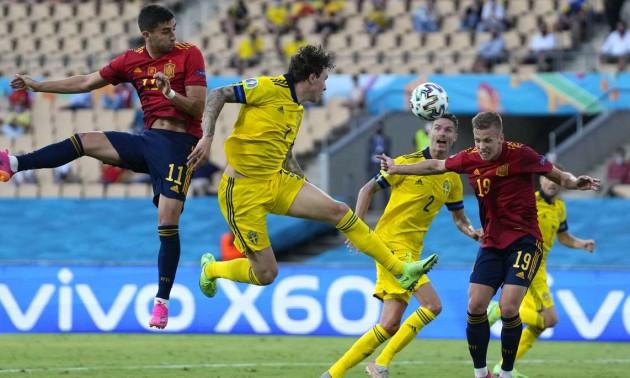 Іспанія не змогла переграти Швецію на Євро-2020