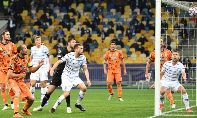 Динамо поступилося Ювентусу у 1 турі Ліги чемпіонів