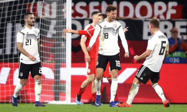 Німеччина та Сербія переможця не виявили