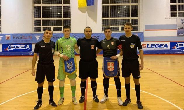 Юнацька збірна України двічі перемогла Сербію
