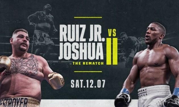 Джошуа – Руїс: інфографіка та прогноз букмекерів