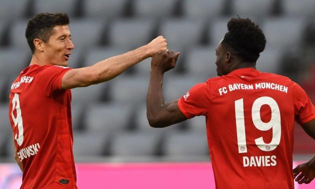 Баварія знищила Фортуну у 29 турі Бундесліги
