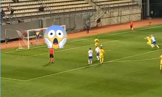 Футболісти молодіжної збірної України хотіли повторити легендарний пенальті, але осоромилися
