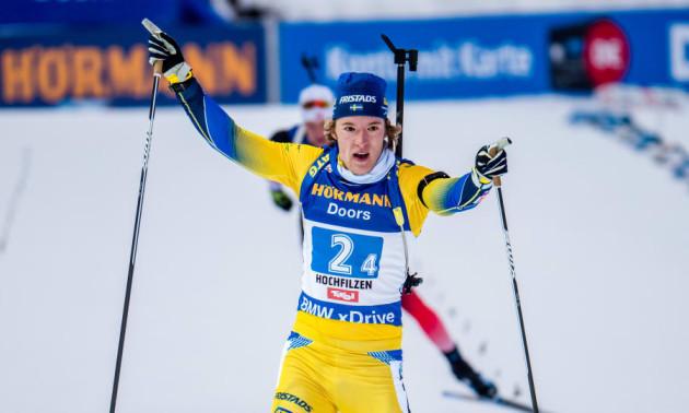 Самуельссон виграв гонку переслідування. Українці поза ТОП-20
