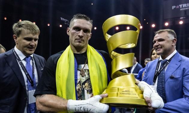Усик виграв Кубок Мохаммеда Алі та став абсолютним чемпіоном світу: як це було. ВІДЕО
