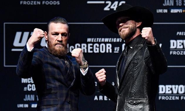 Конор Мак-Грегор - Дональд Серроне: анонс і прогноз на бій UFC 246
