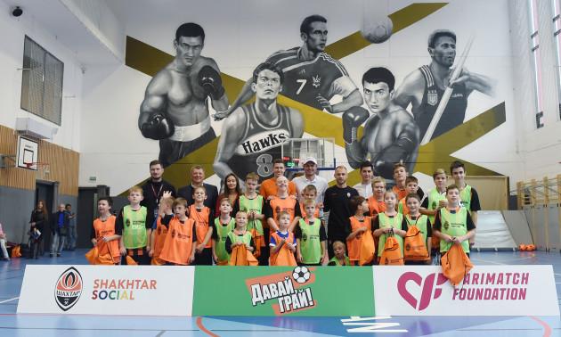 Шахтар і Parimatch Foundation запускають тренування з футболу для дітей з інвалідністю