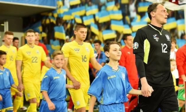 Шевченко оголосив офіційну заявку на матч Україна - Естонія