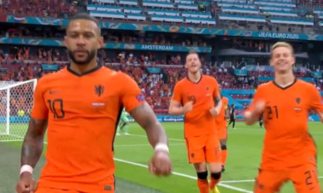 Євро-2020. Нідерланди упевнено переграли Австрію та оформили путівку до плей-оф