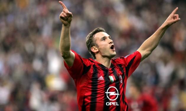 14 років тому Шевченко забив свій останній гол в Серії А