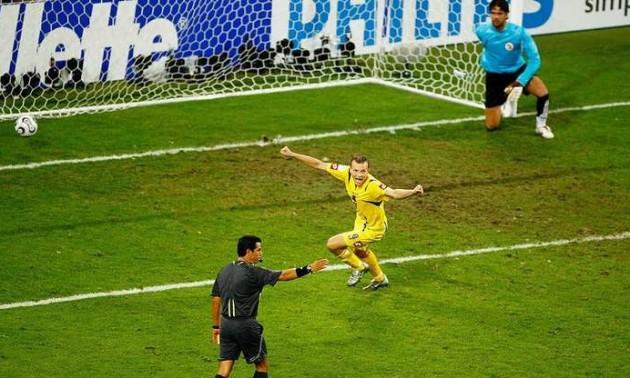 Гусєв згадав, як бив пенальті в матчі проти Швейцарії