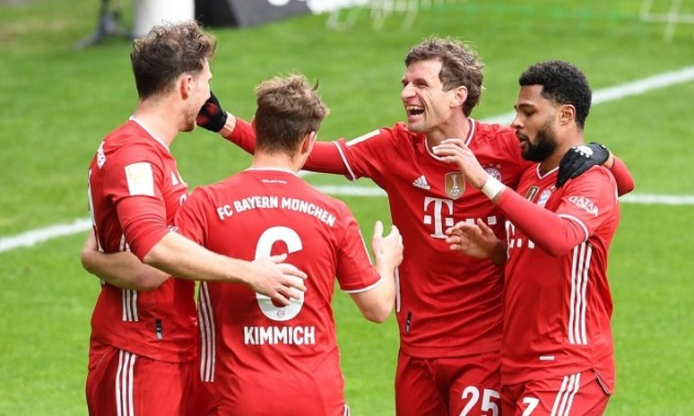 Баварія стала чемпіоном Німеччини