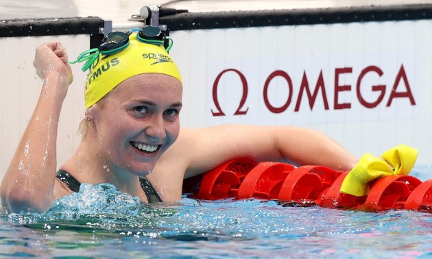 Австралійка Тітмус стала дворазовою олімпійською чемпіонкою