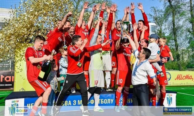 Чемпіонат Києва з міні-футболу переглянули близько півмільйона глядачів