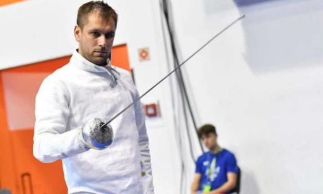 Український фехтувальник переміг швейцарця в 1/8 фіналу Олімпіади