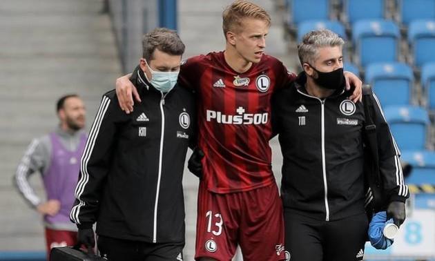 Шабанов отримав травму у матчі чемпіонату Польщі