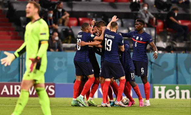 Євро-2020. Франція - Німеччина 1:0. Як це було
