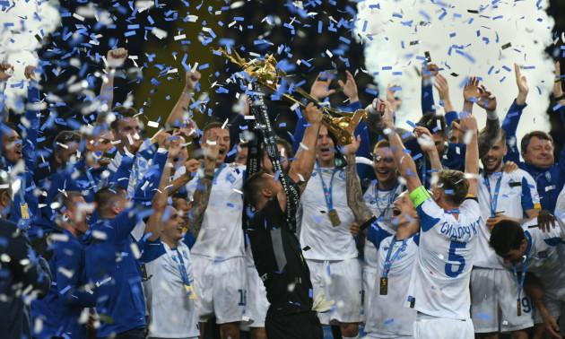 Динамо вдванадцяте стало володарем Кубку України. Церемонія нагородження