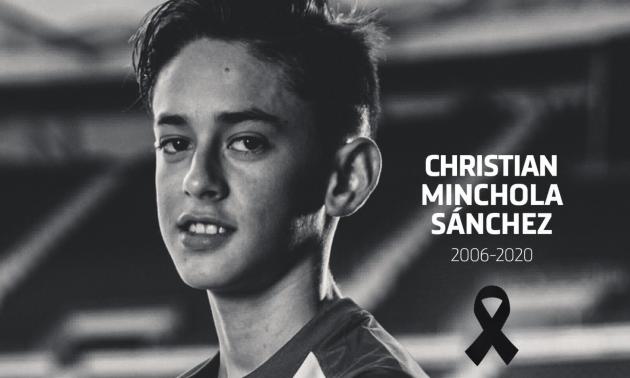 Помер 14-річний гравець Атлетіко
