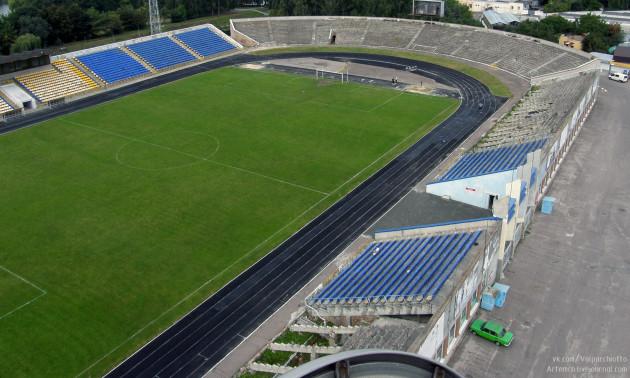 На реконструкцію стадіону в Рівному міська влада виділила 50 мільйонів гривень