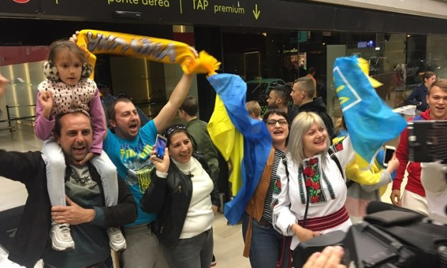 Очима вболівальників: неймовірна підтримка збірної України в Португалії