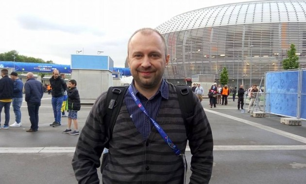 Відомий журналіст звинуватив телеканали Футбол 1/2 в крадіжці матеріалу
