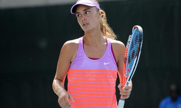 Калініна програла в другому колі на турнірі в США