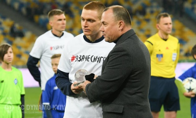 Циганков зіграв 100-й матч за Динамо