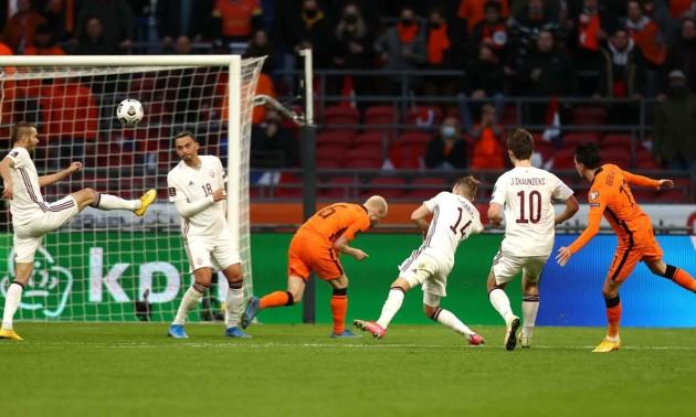 Нідерланди - Латвія 2:0. Огляд матчу