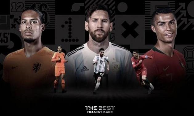 ФІФА назвала претендентів на звання найкращого футболіста року